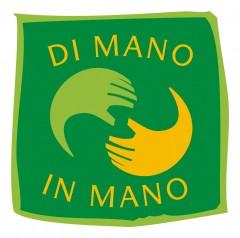 """Logo della cooperativa """"di mano in mano"""""""